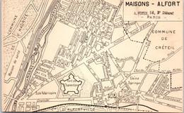 94 MAISONS ALFORT - Carte Postale Plan De Ville - Maisons Alfort