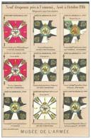 Cpa Musée De L'armée - 9 Drapeaux Pris à L'ennemi , Non écrite - Guerra 1914-18