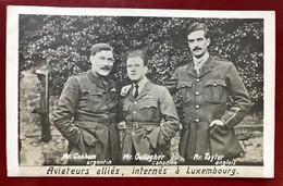 LUXEMBOURG Aviateurs Alliés , Internés à Luxembourg - Altri
