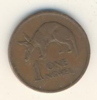 ZAMBIA 1972: 1 Ngwee, KM 9 - Zambia