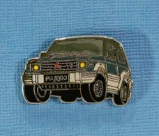 1 PIN'S //  ** MITSUBISHI PAJÉRO V6 / 1991 / 4WD - ABS - 3L ** . (BALLARD) - Mitsubishi