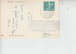 SVIZZERA 1961 - Su Cartolina - Sport -.- - Briefe U. Dokumente