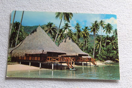Cpsm 1974, Hôtel Bali, Maharepa, Mooréa, Polynésie Française - Polynésie Française