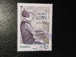 Timbre France Marguerite Long N° 5132 / 2016 - Oblitérés