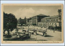 Y151/ Hannover Ernst Augustplatz Mit Bahnhof Ca.1923 AK - Hannover