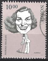 Norwegen Norway 2002. Mi.Nr. 1421, Used O - Oblitérés