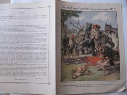 COUVERTURE CAHIER  - POESIE SATIRIQUE - LION, RENARD, COQ, OURS, CERF... - COLLECTION CHARIER - Animals