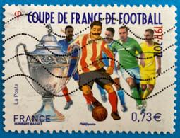 France 2017 : Sport, Centenaire De La Coupe De France De Football N° 5145 Oblitéré - Oblitérés