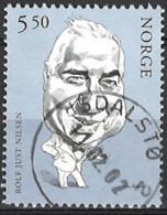 Norwegen Norway 2002. Mi.Nr. 1418, Used O - Oblitérés