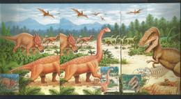 Korea 2000 Prehistoric Fauna Max Card Set Of 3  (0) - Prehistorics