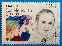 France 2017 : Cinquentenaire De La Loi Neuwirth N° 5121 Oblitéré - Oblitérés