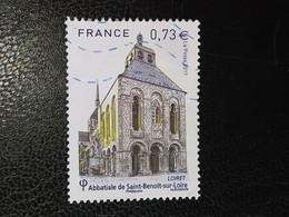 Timbre France Abbaye Loiret N° 5146 / 2017 - Oblitérés
