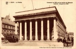 21 DIJON  Le Théâtre Commencé En 1810 Sur Les Dessins Du Dijonnais Cellerier, Inauguré En 1828 - Dijon