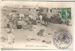 FRANCIA CORREO MILITAR SAHARA PLACE DE COLOMB BECHAR ARGELIA ORAN - Briefe U. Dokumente