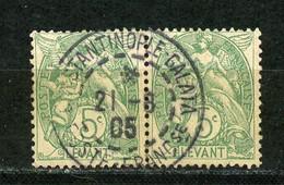 LEVANT RF - T. BLANC - N° Yvert 13 Obli. Ronde De CONSTANTINOPLE De 1905 - Oblitérés