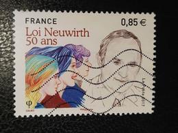 Timbre France Loi Neuwirth N° 5121 / 2017 - Oblitérés
