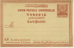 Turkey Empire Postal Stationery Card (414) - Cartas