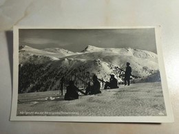Austria Österreich Barengrube Innerkrems Krems König Koenig Stuhl Ski Sport Winter 12579 Post Card POSTCARD - Unclassified