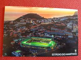 Funchal Madeira Dos Barreiros  Stadium Cartolina Stadio Postcard Stadion AK Carte Postale Stade Estadio Maritimo - Calcio