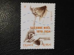 Timbre France Suzanne Noël N° 5203 / 2018 - Oblitérés