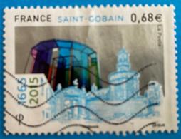 """France 2015 : 350e Anniversaire De L'entreprise """"Saint Gobain"""" N° 4984 Oblitéré - Oblitérés"""