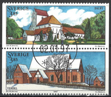 Sweden 1997. Mi.Nr. 1976-1977, Used O - Oblitérés