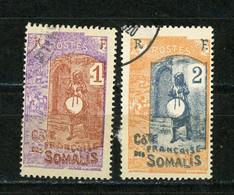 Ctes SOMALIS -  DIVERS - N° Yvert  83+84 Obli. - Oblitérés
