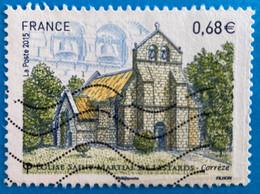 France 2015 :  Série Touristique, Eglise Saint-Martial De Lestards N° 4967 Oblitéré - Oblitérés