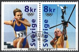 Sweden 2000. Mi.Nr. 2182-2183, Used O - Oblitérés