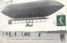 A/6          Les Pionniers De L'air       Aréonef Malécot A L'appareillage - Zeppeline