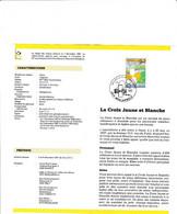 Feuillet Poste FDC 2270 La Croix Jaune Et Blanche Morlanwelz - Cartas