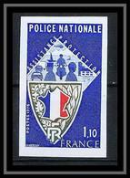 France N°1907 Police Nationale 1976 Non Dentelé ** MNH (Imperf) - Imperforates