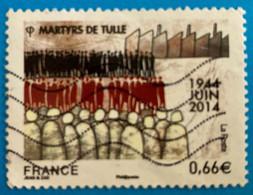 France 2014 : Martyrs De Tulle N° 4865 Oblitéré - Oblitérés