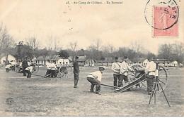 A/6         51      Camp De Chalons     En Batterie - Camp De Châlons - Mourmelon