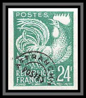 France Préoblitere PREO N°114 Coq Gaulois (french Rooster) Non Dentelé ** MNH (Imperf) - Imperforates