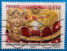 France 2014  : Salon Philatélique De Printemps De Clermont Ferrand N° 4851 Oblitéré - Oblitérés