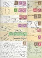LOT DE 100 CARTES AVEC CERES DE MAZELIN. - 1945-47 Cérès De Mazelin