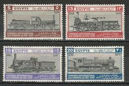 Ägypten Mi 160-63 * MH - Ungebraucht