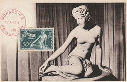 F. J. Bosio  -  La Nymphe Salmacis - Maximum Cards