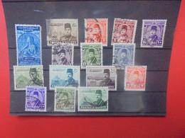 Egypte Jolie Sélection Majorités Oblitérées (32) - 1915-1921 Protectorado Británico