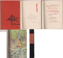 Translations From The CHINESE By Arthur Waley - Other