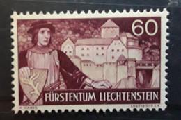 LIECHTENSTEIN 1937,   YVERT N° 148 , Wolfhart Von Brandis Et Chateau De Vaduz  60 R   , Neuf ** / MNH TB - Unused Stamps