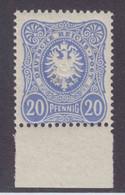 DR MiNr. 42ba ** Gepr. - Unused Stamps