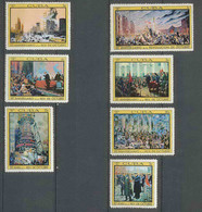 188 Cuba ** MNH N° 1173/1179 Révolution Russe Russie (Russia Urss USSR) 1967 - Unused Stamps