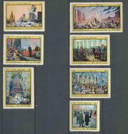 188 Cuba ** MNH N° 1173/1179 Révolution Russe Russie (Russia Urss USSR) 1967 - Neufs