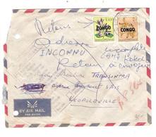 913PR/ Kasai TP RDC 89-90 S/L.Avion Service Intérieur C. Luluabourg 1961 > Léo C.d'arrivée 27/3/61 Retour Inconnu - South-Kasaï