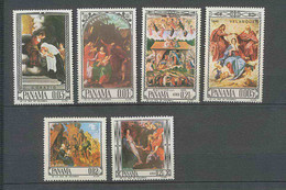 297a Panama ** MNH 434/437 + Pa Tableau (tableaux Painting) Dürer Rubens - Panamá