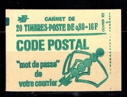 France Carnet 1893 C1 Marianne De Bequet Fermé Conf 6 Avec Date 26 08 76 - Usados Corriente