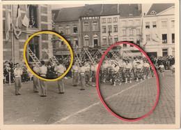 Sint-Truiden :Fruitoogstfeesten 1961 Op Markt ( Fotokaart ) - Sint-Truiden