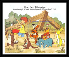 80133 St Vincent & The Grenadines Disney Winnie The Pooh Winnie L'ourson Tigrou Bourriquet Bloc (BF) Neuf ** MNH - St.Vincent & Grenadines